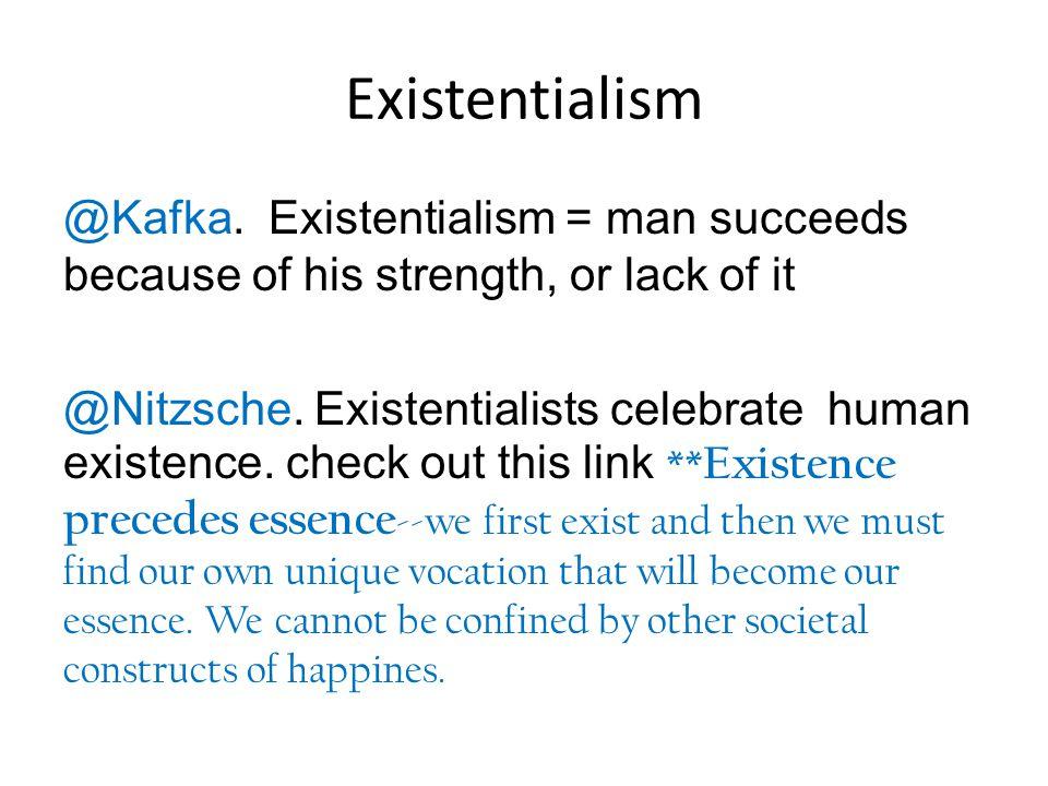 Existentialism @Kafka.