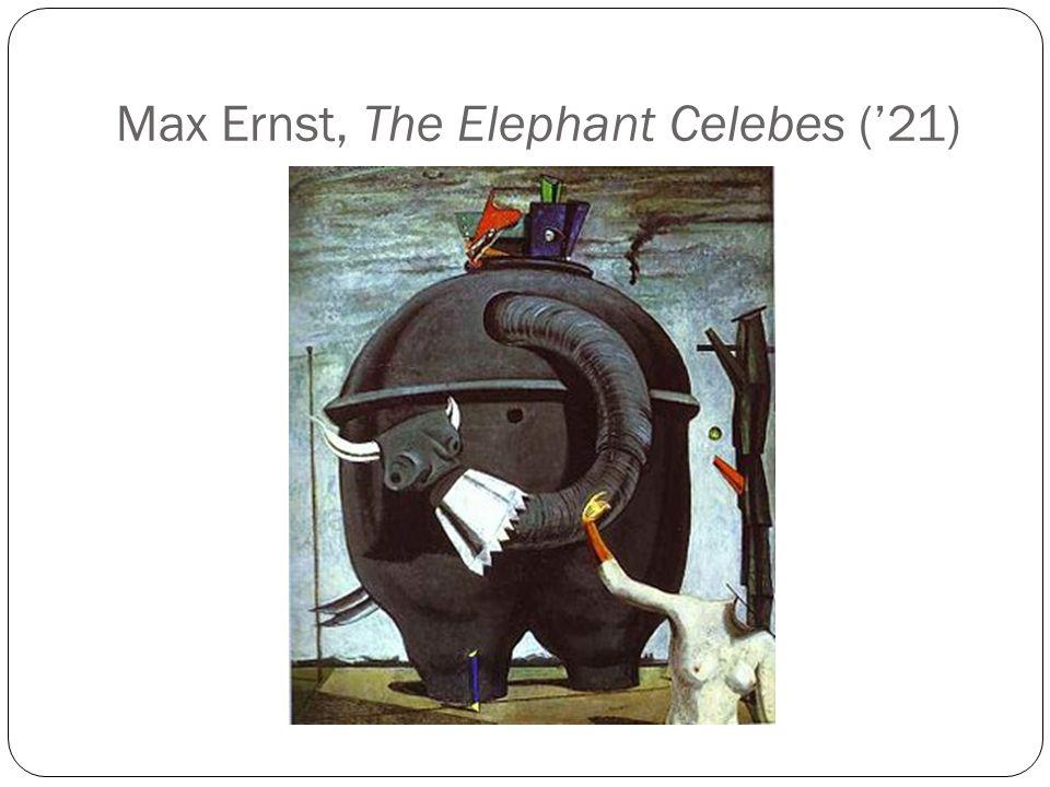 Max Ernst, The Elephant Celebes ('21)
