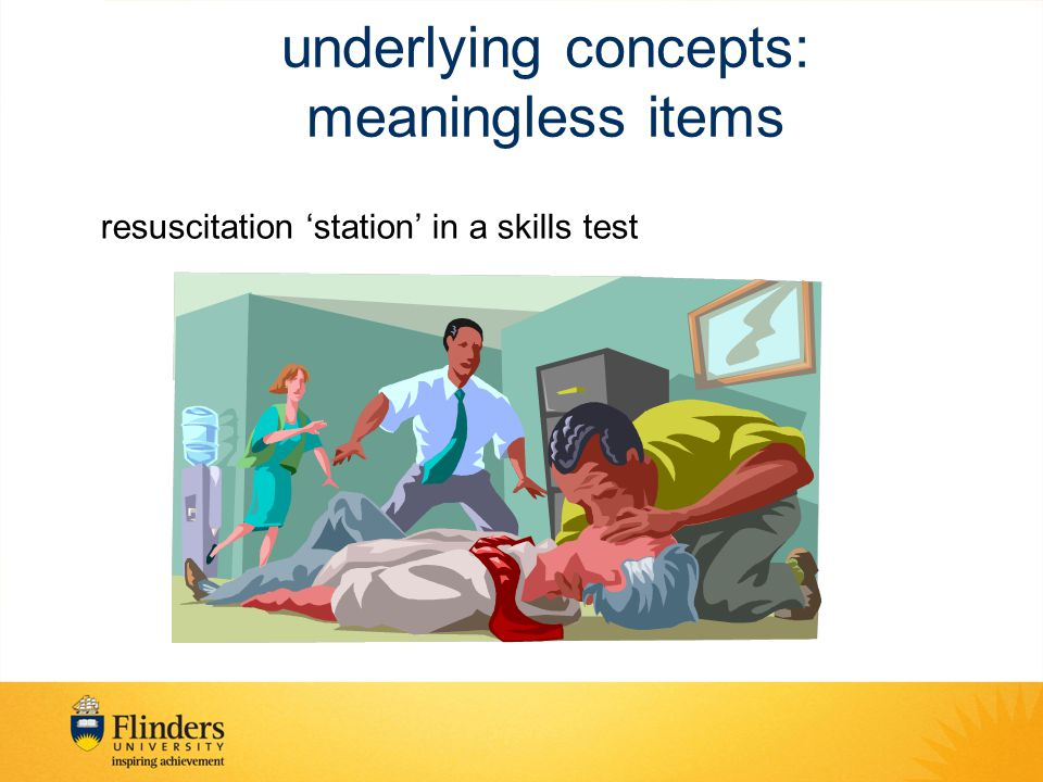 resuscitation 'station' in a skills test