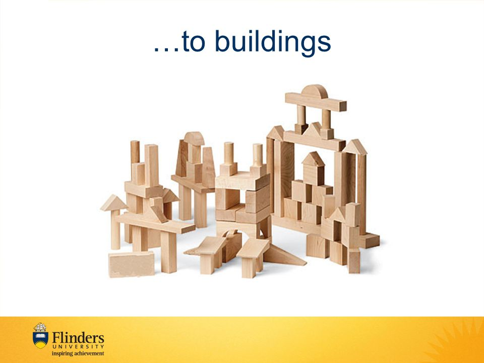 …to buildings
