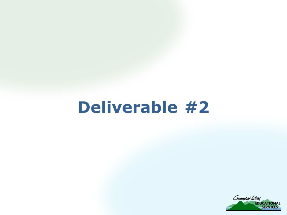 Deliverable #2