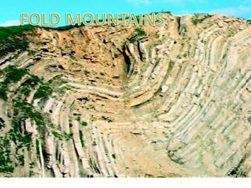 Formation Fold mountains are generally formed in the less deformed areas adjacent to areas strongly affected by thrust tectonics.