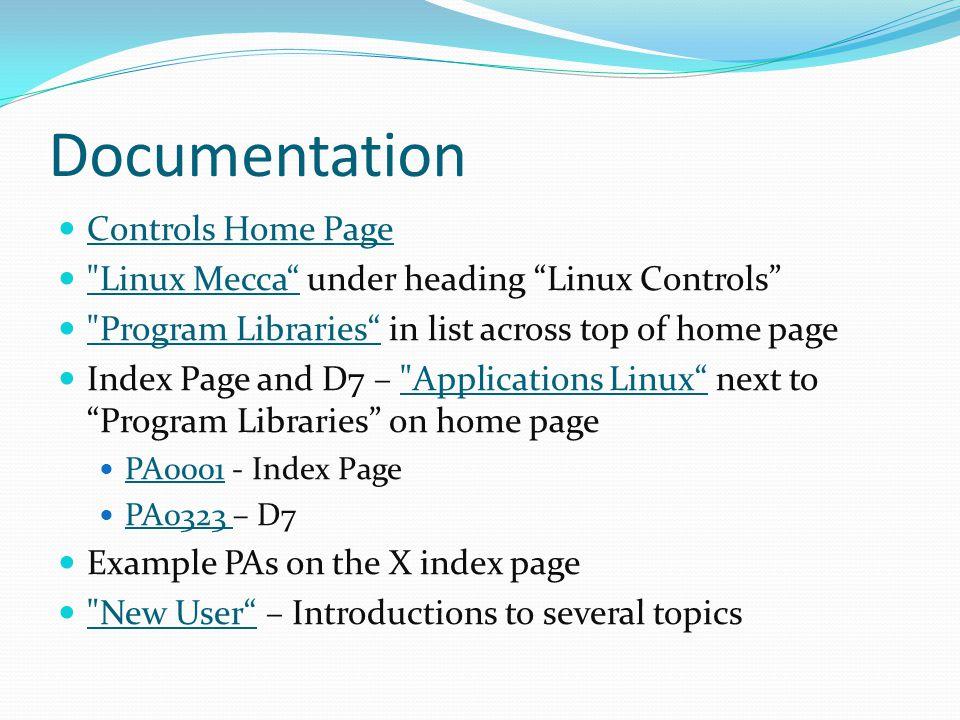Scenario – Examining History Mecca uses CVS (Concurrent Version System).