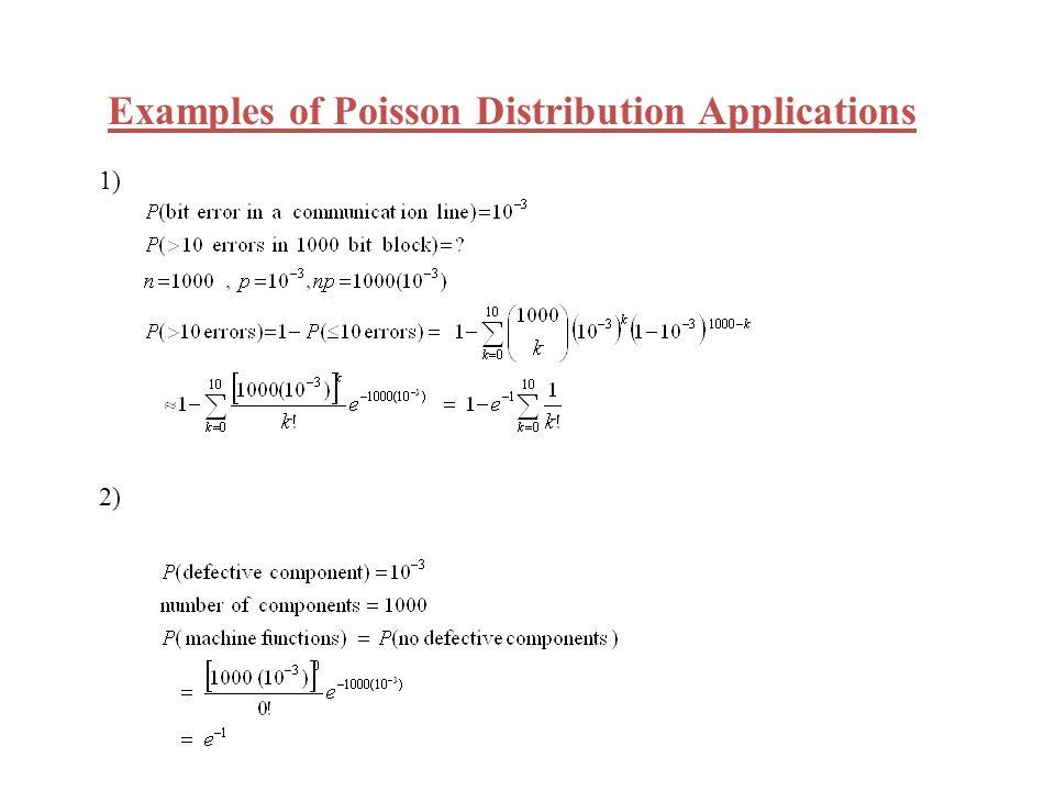 Functions of Random Variables: If X is a random variable Y = g(X) is also a random variable.