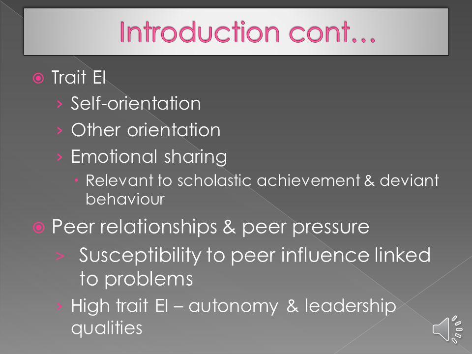  Generation Y era & Web 2.0 tools  Emotional Intelligence & Web 2.0 tools  Gen Y teenagers' needs › Collaboration & communication › Core values bas