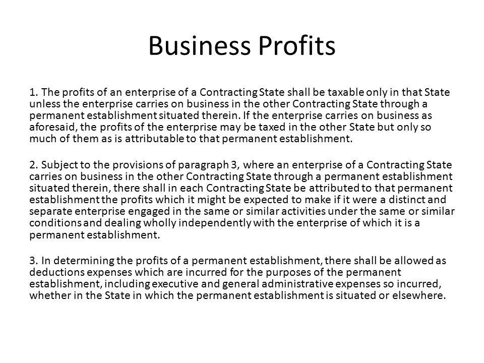 Business Profits 1.