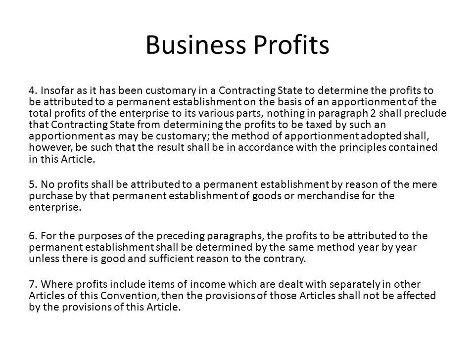 Business Profits 4.