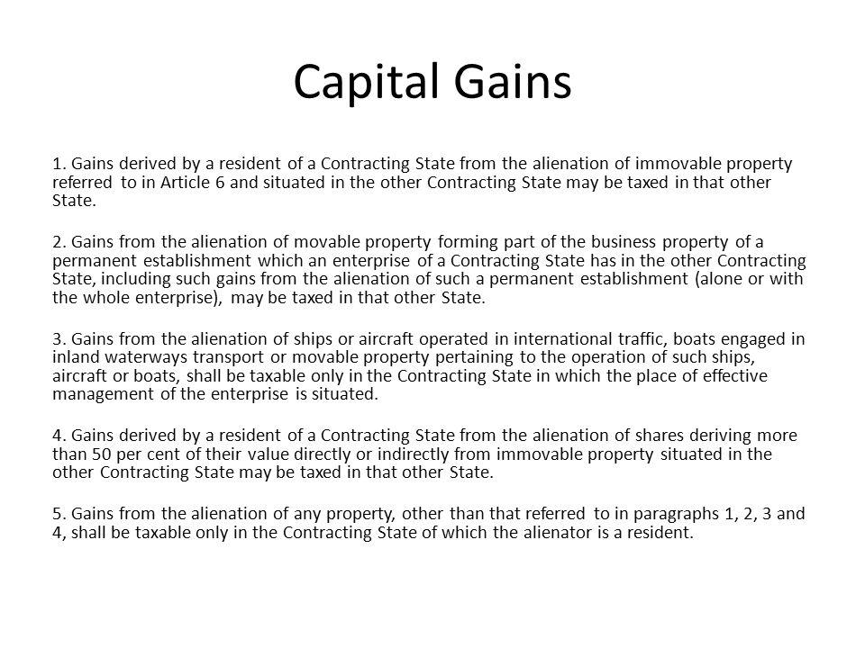 Capital Gains 1.