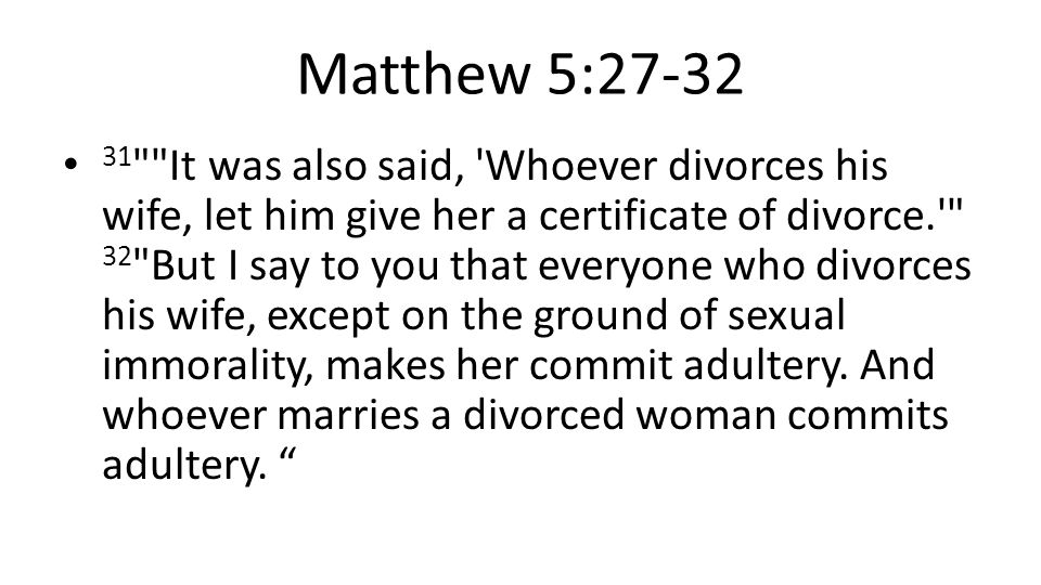 It is not easy, that is why 10 The disciples said to him, If such is the case of a man with his wife, it is better not to marry. 【 Matt 19:10 】