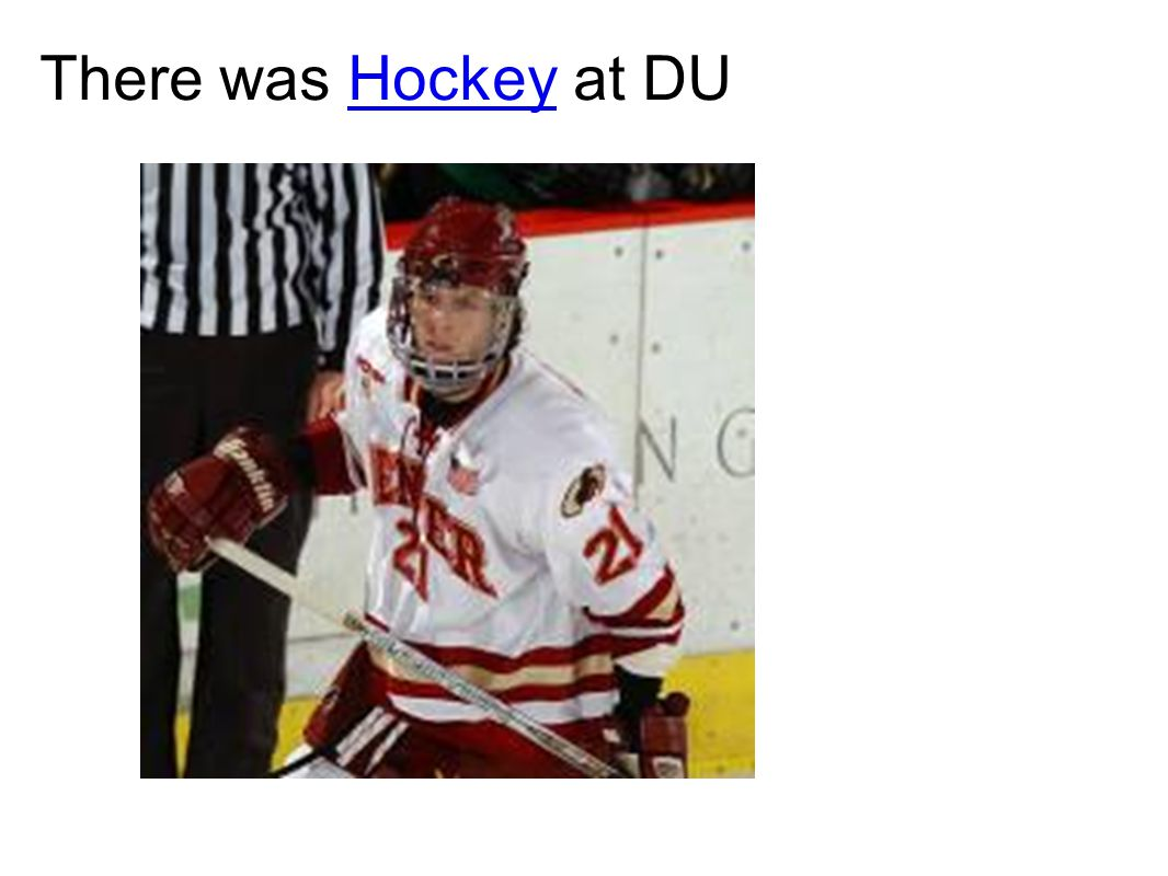 There was Hockey at DUHockey