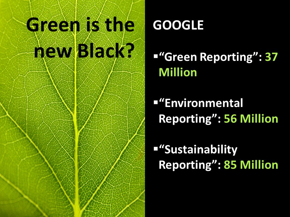 Frameworks Issues Needs Pros and Cons Green is the new Black.
