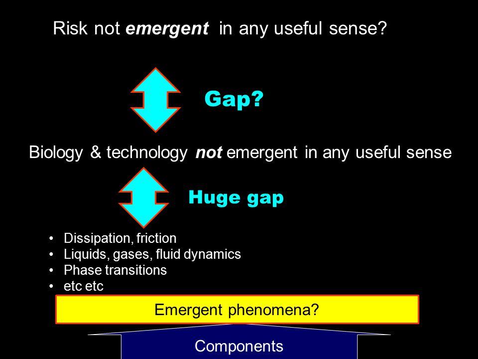 Components Emergent phenomena.