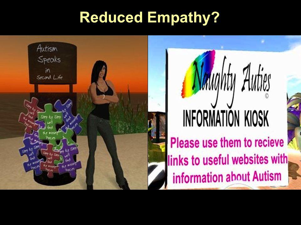 Reduced Empathy