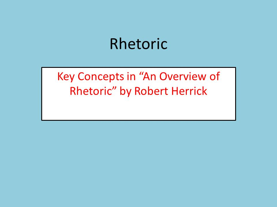 What are the limits of rhetoric.All communication.