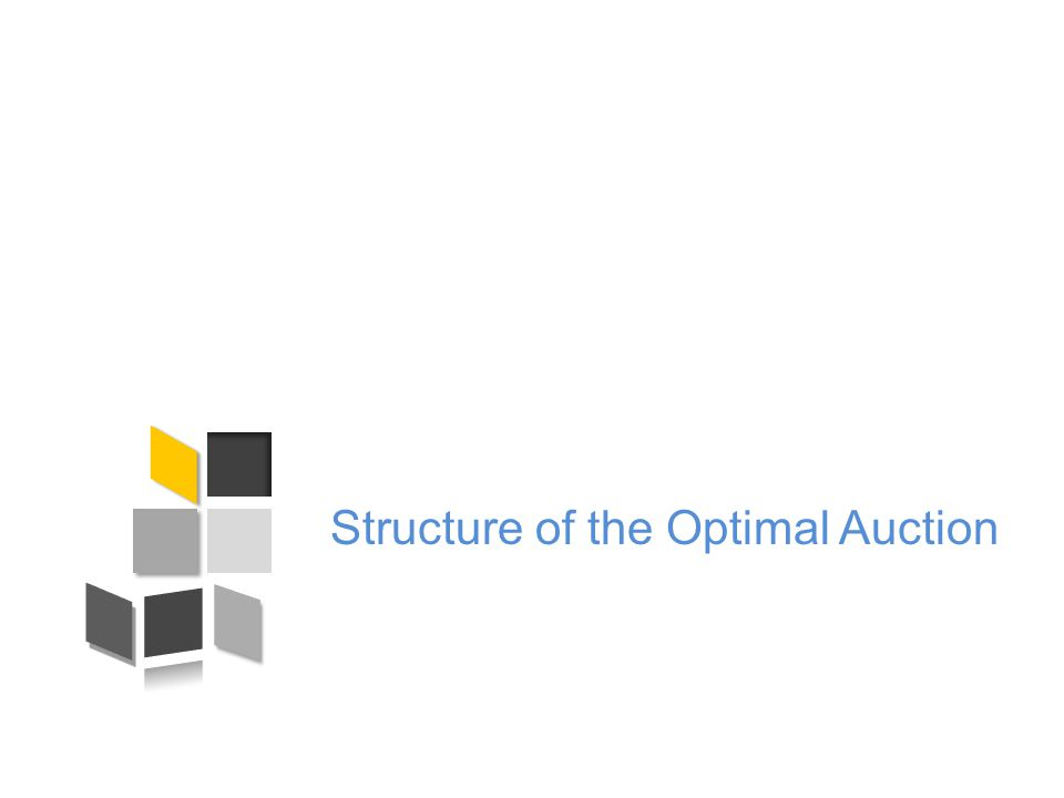 Structure of the Optimal Auction