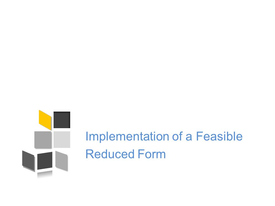 Set of Feasible Reduced Forms Reduced form is collection ; Can view it as a vector ; Let's call set of feasible reduced forms ;  Claim 1: F(D) is a convex polytope.