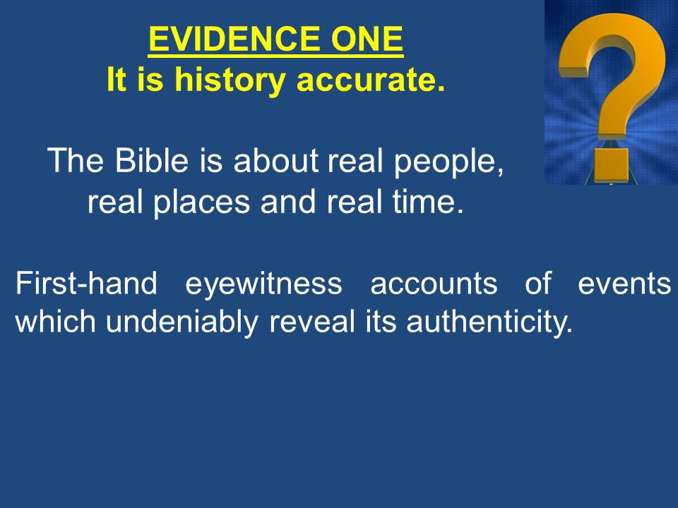 Many have undertaken to draw up an account of the things that have been fulfilled among us, just as they were handed down to us by those who from the first were eyewitnesses.
