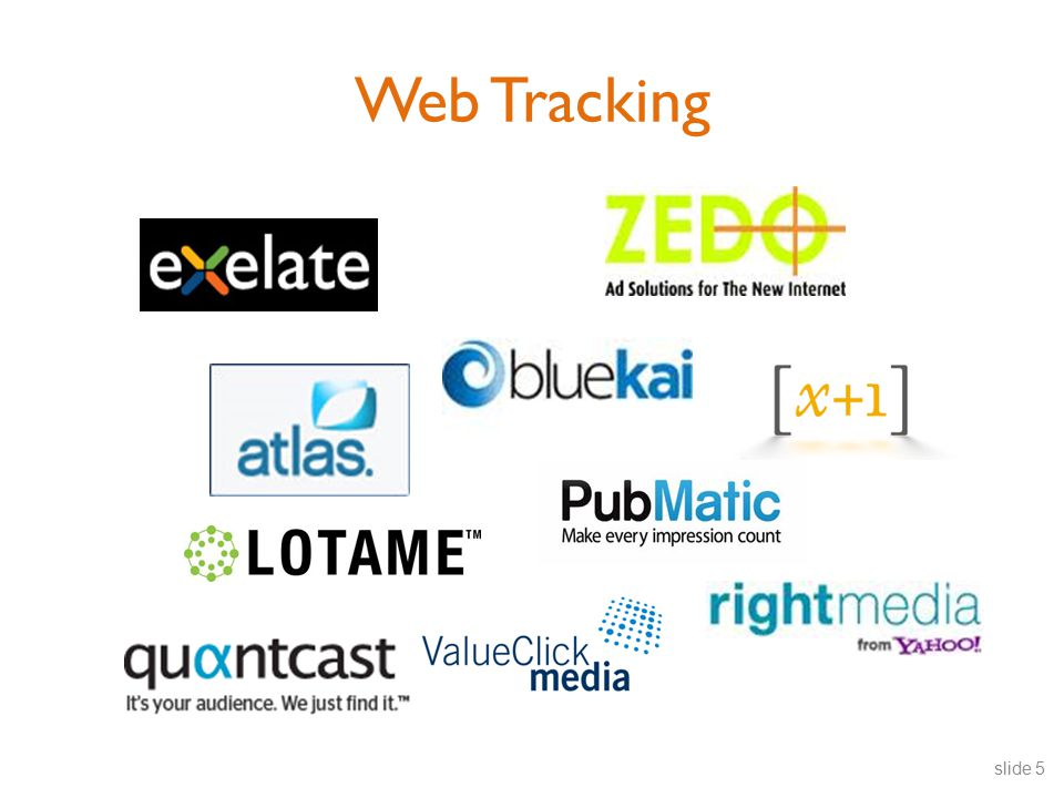 Web Tracking slide 5
