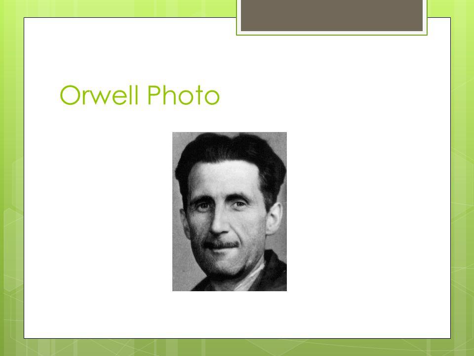 Orwell Photo