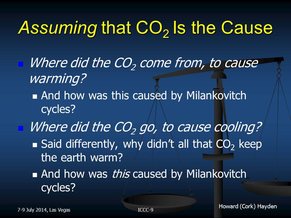 Howard (Cork) Hayden Mechanism During Cooling 7-9 July 2014, Las VegasICCC-9 Alfredo Martínez-García et al., Iron Fertilization of the Subantarctic Ocean During the Last Ice Age, Science 343, 1347 (2014).