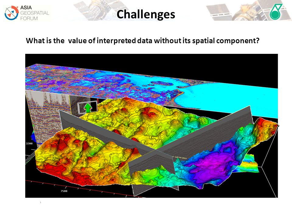 What is the value of interpreted data without its spatial component?