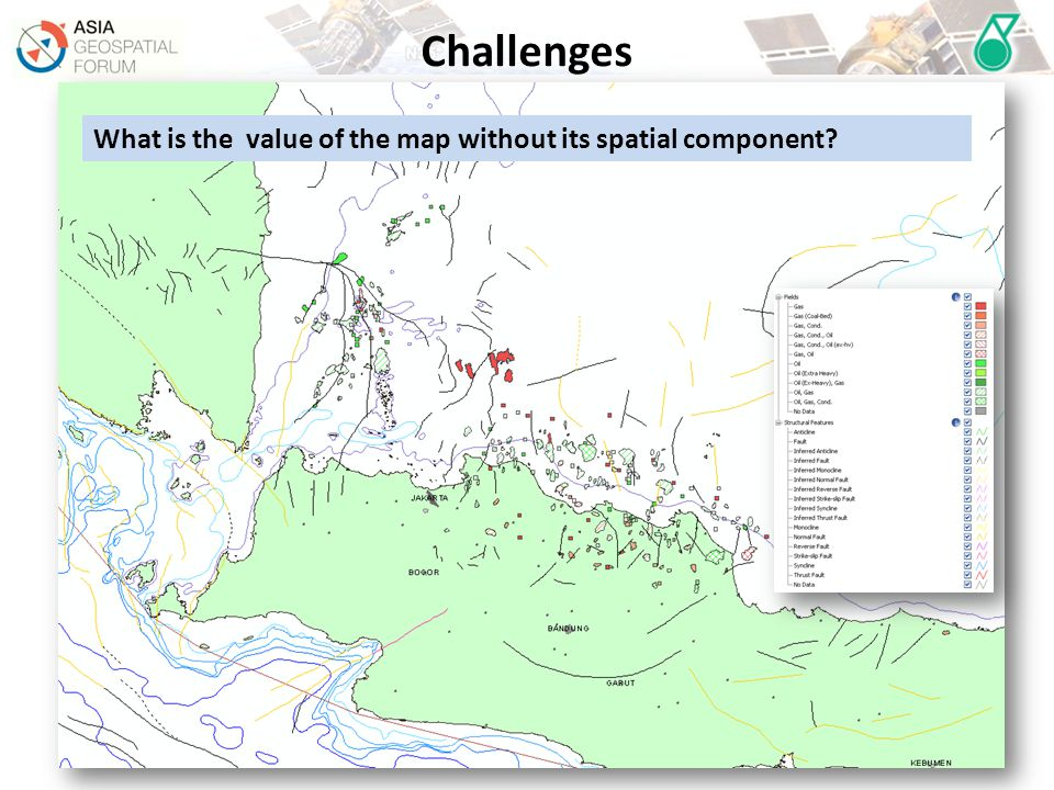 What is the value of the map without its spatial component?