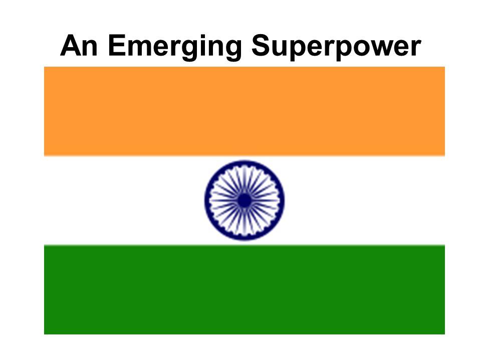 An Emerging Superpower
