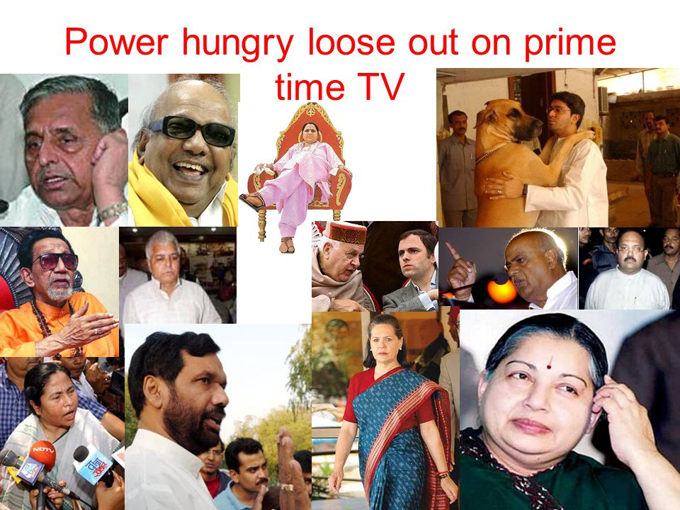 Power hungry loose out on prime time TV