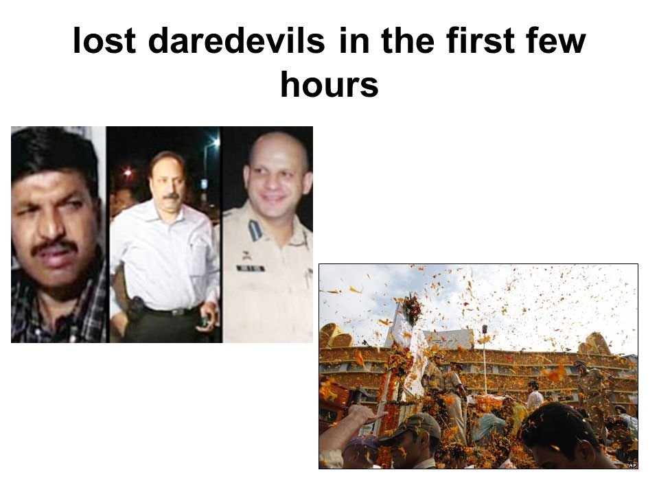 lost daredevils in the first few hours