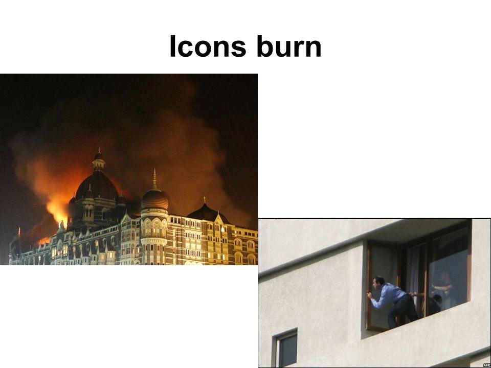 Icons burn
