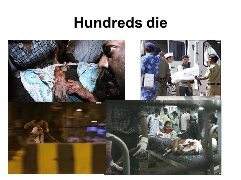 Hundreds die
