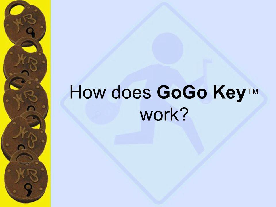 15 How does GoGo Key ™ work?