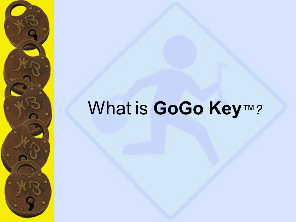 3 What is GoGo Key ™?