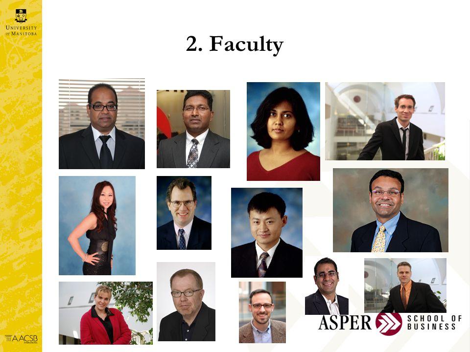 2. Faculty