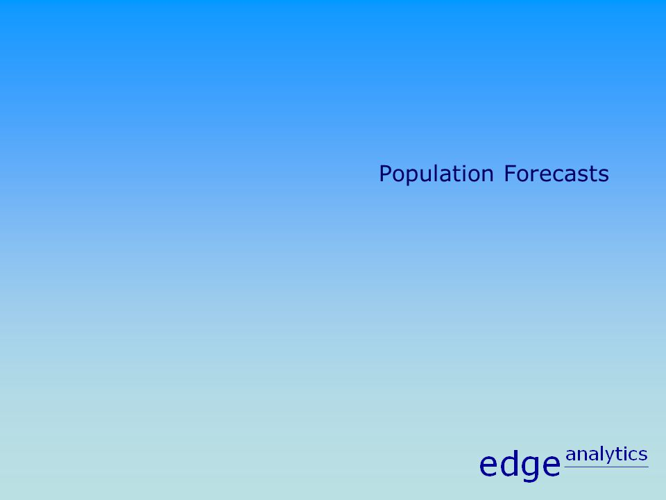 Population Forecasts