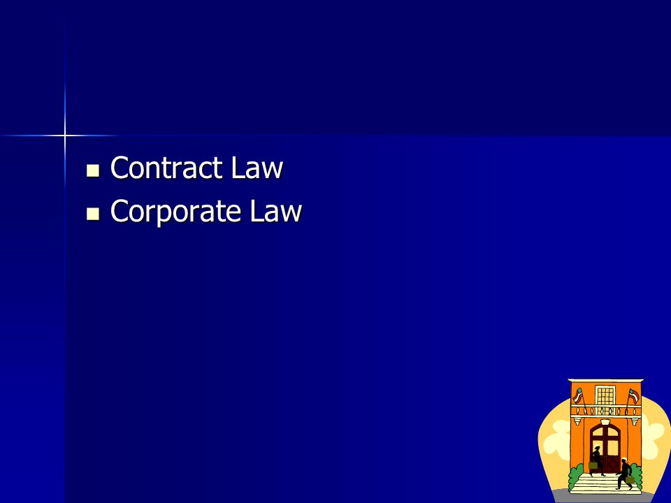 Corporate Law Corporate Law