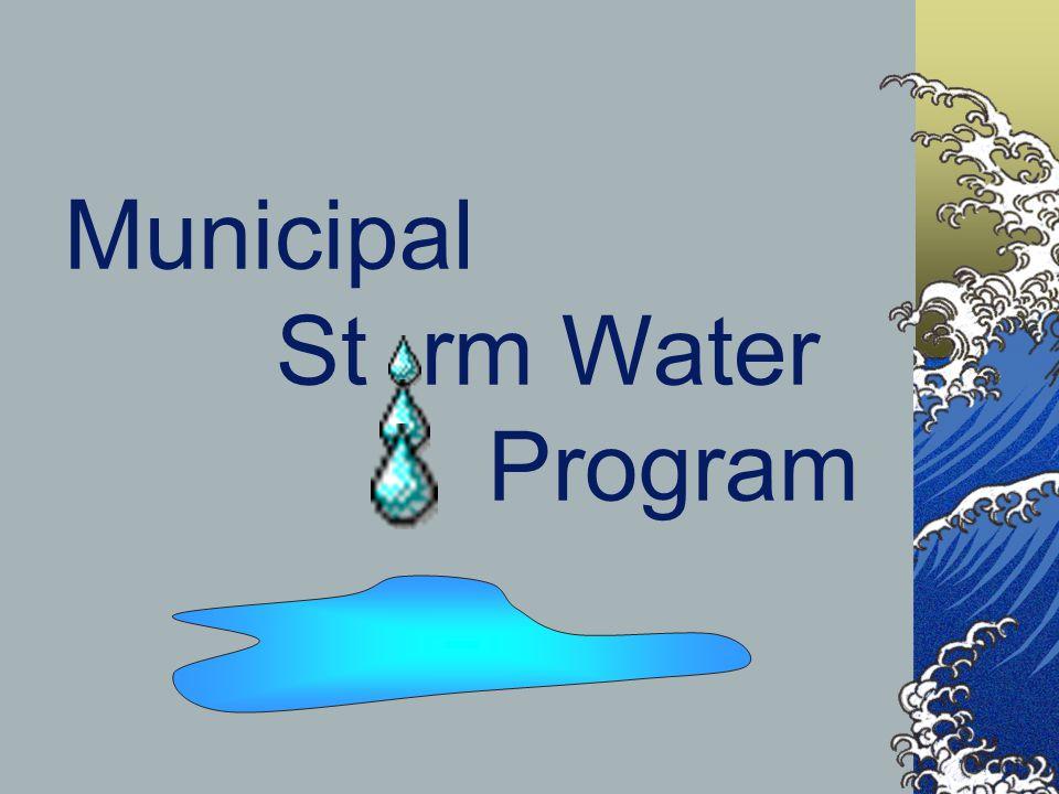 CALTRANS MAINTENANCE PROGRAM STORM WATER QUALITY TRAINING SUMMER 2002