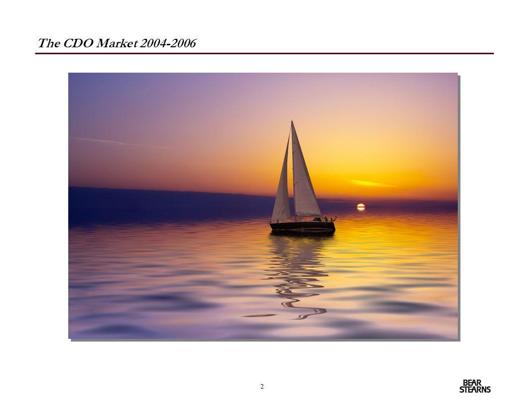 2 The CDO Market 2004-2006