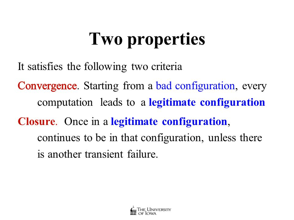 Two properties
