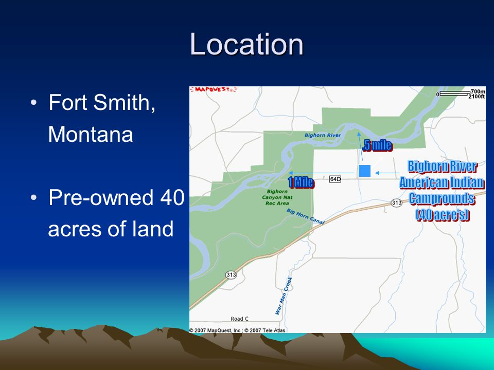 Location Fort Smith, Montana Pre-owned 40 acres of land