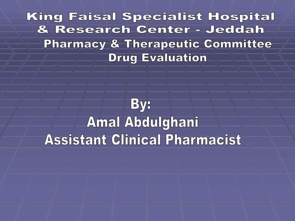Overview  Generic Name: Nilotinib  Proprietary Name: Tasigna ®  Therapeutic Class: Antineoplastic Agent.