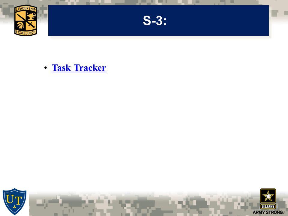 S-3: Task Tracker
