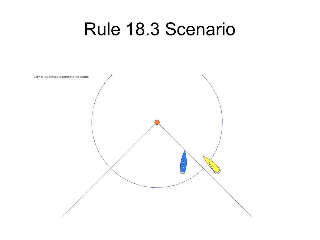 Rule 18.3 Scenario