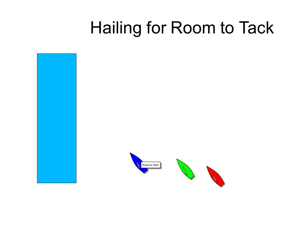 Hailing for Room to Tack