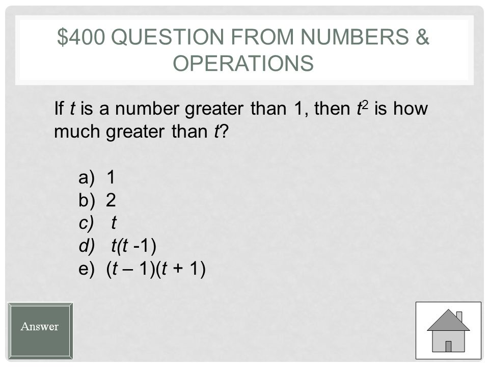 $400 QUESTION FROM STATISTICS & PROBABILITY The first term in a sequence is the number n, and each term thereafter is 5 greater than the term before.