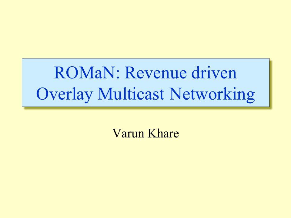 Agenda  Problem Statement  Dynamic Programming  Application to ROMaN