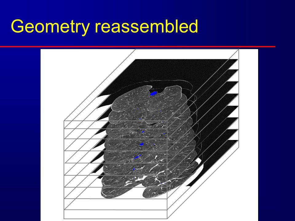Geometry reassembled