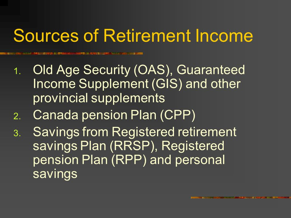Objectives of This Seminar - Winston Wong How to take advantage of some investment products to maximize retirement income, minimize income taxes and provide security.