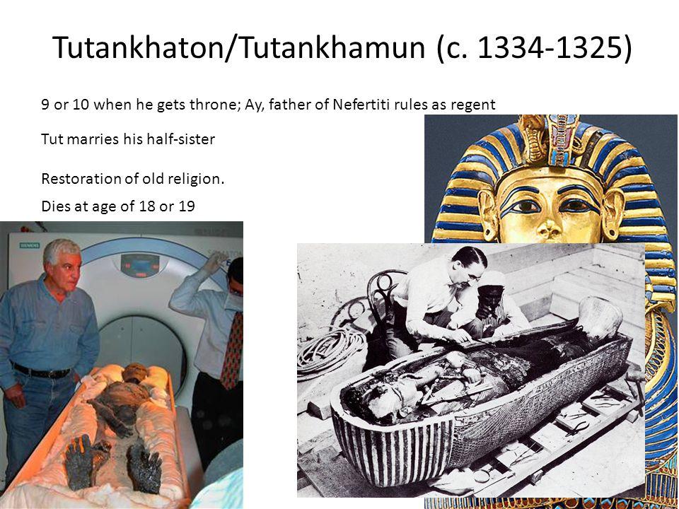Tutankhaton/Tutankhamun (c.