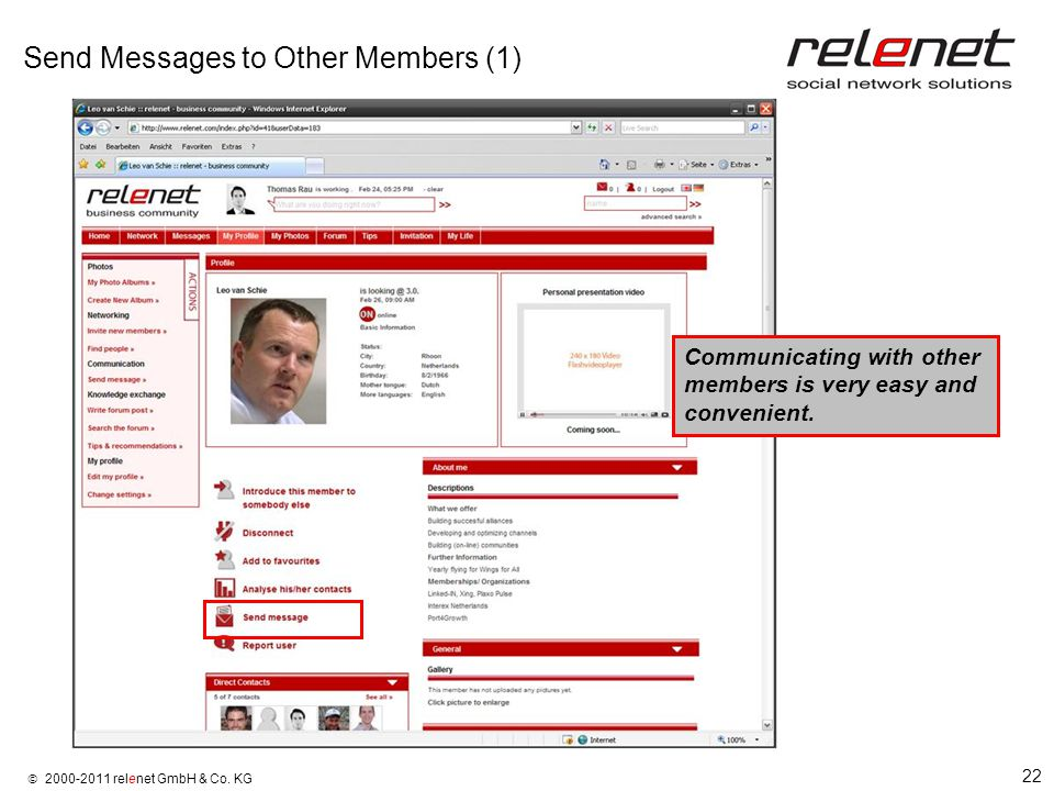 22  2000-2011 relenet GmbH & Co.